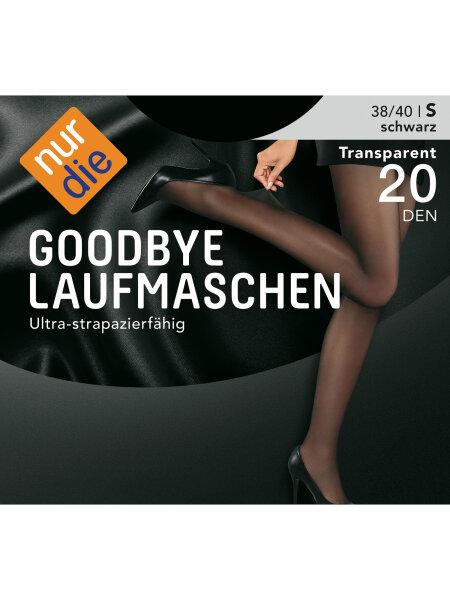 NUR DIE Strumpfhose Goodbye Laufmaschen 20 DEN