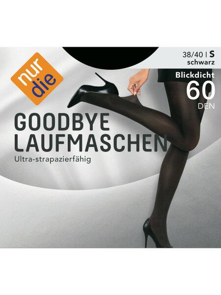 NUR DIE Strumpfhose Goodbye Laufmaschen 60 DEN