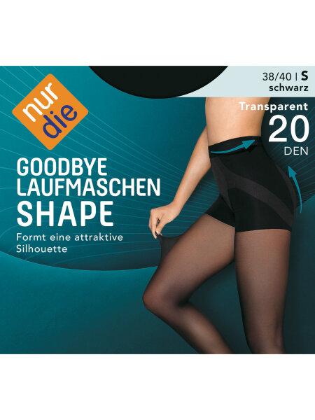 NUR DIE Strumpfhose Goodbye Laufmaschen Shape 20 DEN