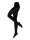 NUR DIE Strumpfhose Ultra Blickdicht 80 DEN - schwarz - 38-40