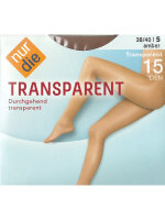 NUR DIE Strumpfhose Transparent 15 DEN