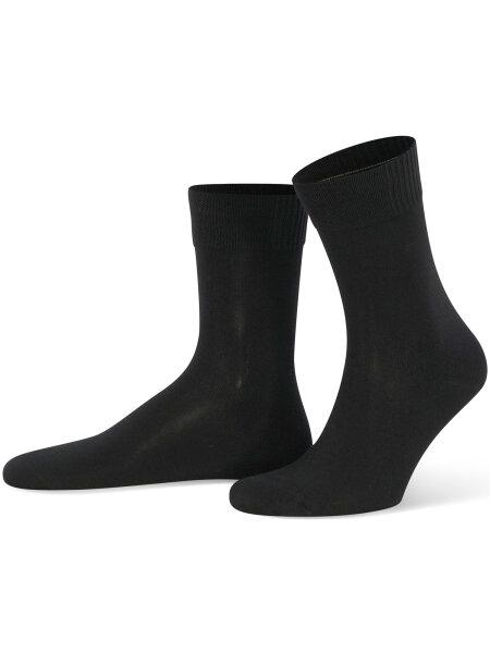 NUR DIE Socke Bambus¹ - schwarz - 39-42