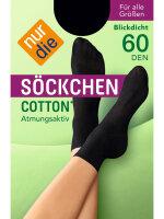 NUR DIE Söckchen Cotton 60 DEN