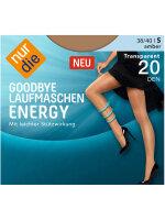 NUR DIE Strumpfhose Goodbye Laufmaschen Energy 20 DEN