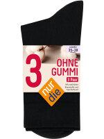 NUR DIE Socken Ohne Gummi 3er Pack