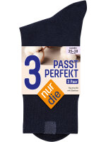 NUR DIE Socken Passt Perfekt 3er Pack