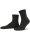 NUR DIE Socken Classic Baumwolle 2er Pack - schwarz - 35-38