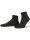 NUR DIE Rollbund Socke Bio Baumwolle 2er Pack - schwarz - 35-38