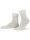 NUR DIE Socken Ohne Gummi 3er Pack - weiß - 39-42
