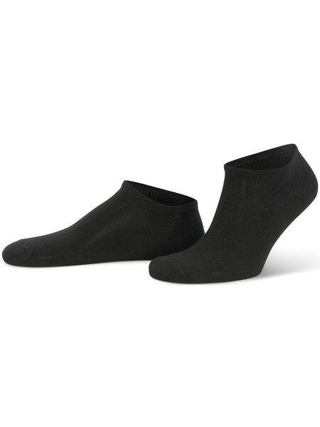 NUR DIE Sneaker Baumwolle 2er Pack - schwarz - 35-38