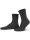 NUR DIE Socke Feine Baumwolle Komfort - schwarz - 39-42