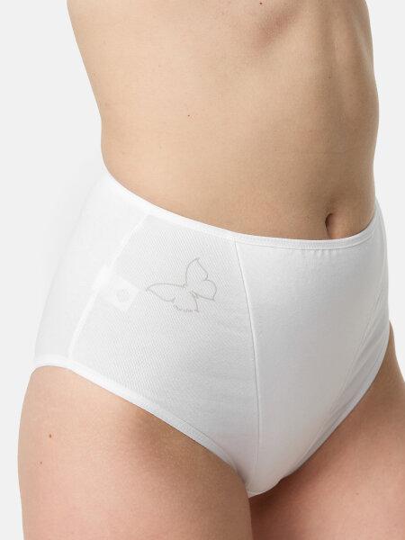 NUR DIE Formslip Cotton - weiß - 44-46
